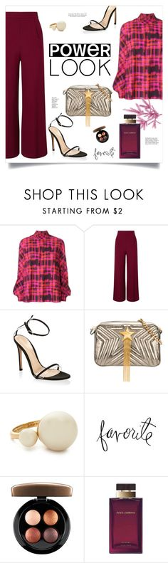 """Power Look"" by frechelibelle ❤ liked on Polyvore featuring Delpozo, Roland Mouret, Gianvito Rossi, STELLA McCARTNEY, Kate Spade, Heidi Swapp, MAC Cosmetics, Dolce&Gabbana, polyvoreeditorial and polyvorecontest"