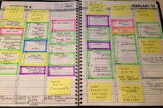 Organizing your calendar