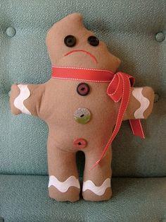 Poor gingerbread man!