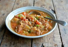 Lavender and Lovage | January Comfort Food: Chicken and Pearl Barley Stew | http://www.lavenderandlovage.com