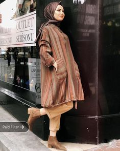 Dress Modest Classy Casual - - Dress Modest Classy Casual Source by Winter Dress Outfits, Casual Summer Dresses, Modest Dresses, Modest Outfits, Dress Summer, Dress Winter, Muslim Fashion, Hijab Fashion, Fashion Outfits