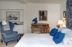 Room 42 has a rather Scandinavian feel. The George in Rye.