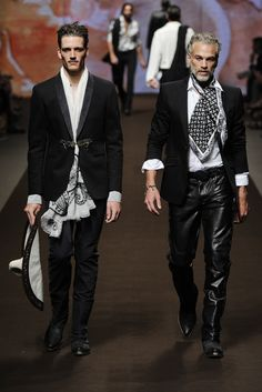 ETRO Man Spring Summer 14 Fashion Show