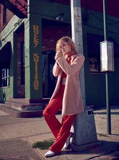 Алин Вебер в Elle Brasil (Интернет-журнал ETODAY)