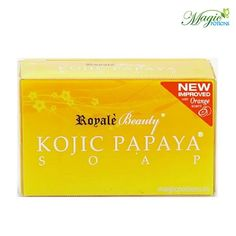 Experience flawless beauty with Royale Kojic papaya skin whitening soap which renders your skin blemish free, whiter, fairer younger looking in no time Dry Out Pimples, Pimple Scars, How To Remove Pimples, Acne Scars, Skin Whitening Soap, Natural Skin Whitening, Papaya Soap, Cells Activity, Lighten Skin