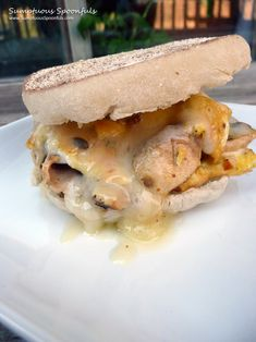 Mushroom Havarti Breakfast Sandwich