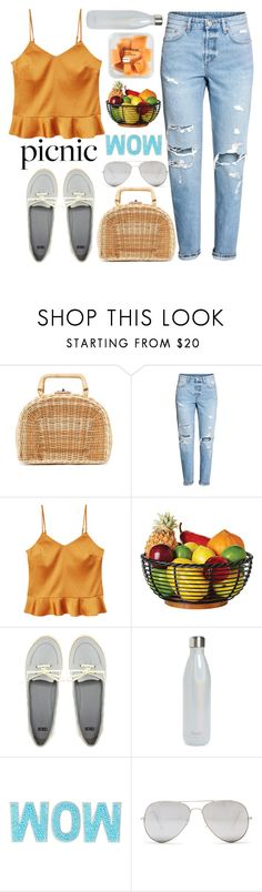 """""""picnic"""" by kawrose02 ❤ liked on Polyvore featuring Kayu, MANGO, ASOS, S'well and Sunny Rebel"""