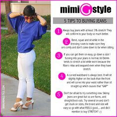 5 Tips To Buying Jeans