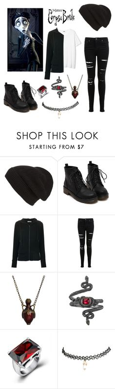 """Victor van Dort"" by infinite-disney-queens ❤ liked on Polyvore featuring Burton, Phase 3, Tomas Maier, Miss Selfridge, Emi Jewellery, Michael Barin, Andante, Wet Seal, women's clothing and women's fashion"
