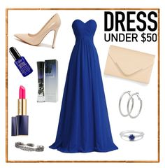 """Lady in blue"" by arijana-xx ❤ liked on Polyvore featuring Shoe Republic LA, Accessorize, M&Co, BERRICLE, Estée Lauder, Giorgio Armani and Blue"