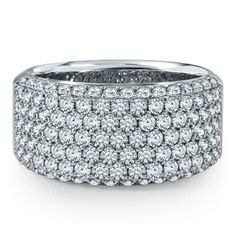 2ct TW Diamond Anniversary Ring in 14K Gold available at #HelzbergDiamonds