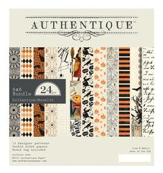 Authentique Moonlit 6x6, The Stamp Simply Ribbon Store
