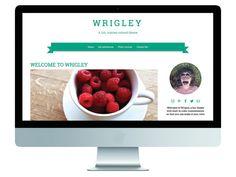 Wrigley • Responsive, Fun, Color Customized WordPress Theme wrigley.gary-wilkerson.com www.etsy.com/shop/gwpress