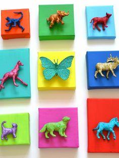 3-D wall art for kid's room. #diy http://www.ivillage.com/diy-wall-art-projects/6-b-430414#515071