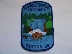 Delaware Township NJ Fire Rescue Department Station No. 28 Patch