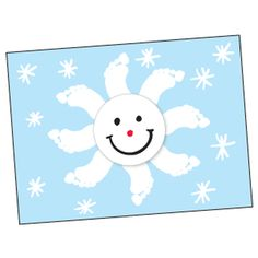 snowflake footprint....could also use for sun/space unit.....just use yellow paint.....