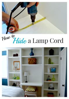 Guest Room Tweak and Hiding a Lamp Cord - CHATFIELD COURT