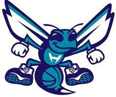 Charlotte Hornets Mascot Logo on Chris Creamer's Sports Logos Page - SportsLogos. A virtual museum of sports logos, uniforms and historical items. Charlotte Hornets Logo, Anniversary Logo, Sports Art, Sports Logos, Photo Logo, Basketball Teams, Panthers, Seasons, Nba Funny