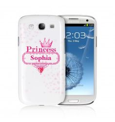 Bling Princess Samsung S3 Case | Samsung | Exclusively Personal