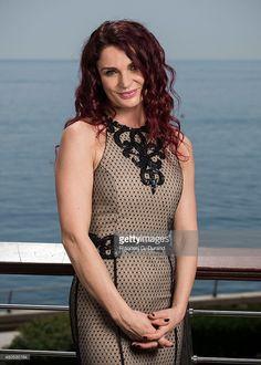 Danielle Cormack poses during a portrait session at Grimaldi Forum on June 11, 2014 in Monaco, Monaco.