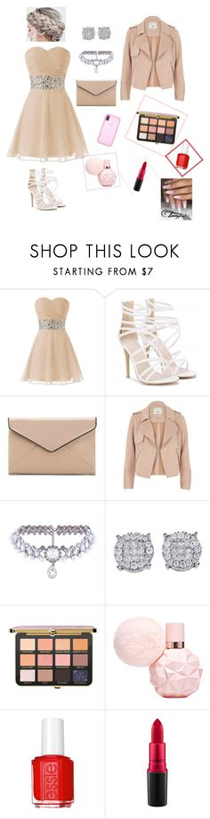 """""""Pastel PROM #1"""" by wendyfashion on Polyvore featuring La Diva, River Island, WithChic, Essie, MAC Cosmetics and Speck"""