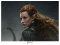 Evangeline from LOST (loved her in that) in the new Hobbit film.