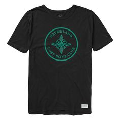 Lost Boys Club Crest Tee - Black $ 32.00 http://lostboysclubco.com/collections/all-products/products/lost-boys-club-crest-tee-black