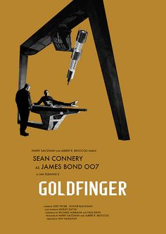 Goldfinger - movie poster - Owain Wilson