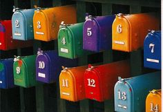 mailboxes with a little TLC