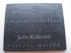 Apparently John Baskerville also mastered letter carving | Flickr - Photo Sharing!