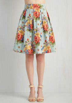 Blooming Bon Vivant Skirt