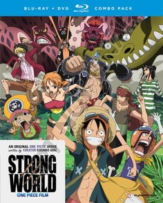 One Piece Strong World - Blu-ray  #RightStuf2013