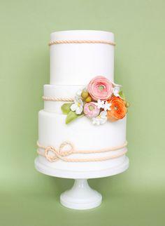 Liz Shim: Eat Cake Be Merry Spring Showcase: Cakes in Bloom   Satin Ice