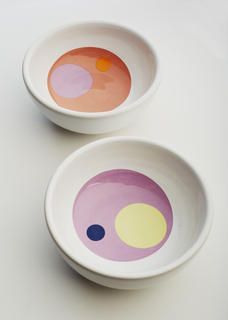 Handmade ceramic bowls perfect for snacking!