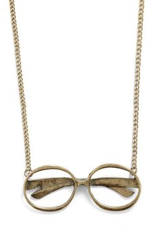 Penny-Farthing for Your Thoughts Necklace | Mod Retro Vintage Necklaces | ModCloth.com