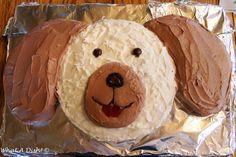 Exclusive Picture of Birthday Cake Dog . Birthday Cake Dog What A Dish Puppy Dog Birthday Cake Birthday Cakes Girls Kids, Puppy Birthday Cakes, Puppy Birthday Parties, Themed Birthday Cakes, Dog Birthday, Puppy Party, Cake Kids, Birthday Nails, Easy Boy Birthday Cake
