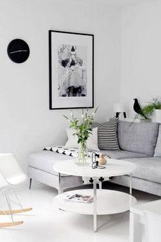 30 Wonderful Nordic Living Room Design Ideas - Page 8 of 30 Nordic Living Room, Scandinavian Living, Home Living Room, Living Room Designs, Living Room Decor, Living Area, Scandinavian Interiors, Cozy Living, Minimalist Scandinavian