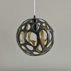 Arteriors Home Ennis Iron Globe Ceiling Pendantv Land of Nod 199.00