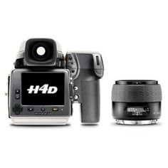 The Hasselblad H4D-50 MS Digital SLR Camera offers the ultimate in digital medium-format image capture to professional commercial, studio, and fine art photographers. For still life work the camera does not compromise with its Multi-Shot Technology, and for live subjects the camera can shoot in normal single-shot mode. The camera is built around a 50 megapixel. $37,995.00
