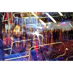 """FOLLOW ECHOSIGHT IN INSTAGRAM for an amazing multiple exposure project involving the work of two artists, combined, to tell stories. """"Love, that brittle adhesive - equal parts fear and desire.  Post-mating, spiders have been known to cannibalize or entrap their partners in chastity belts to prevent future breeding. I suppose this leaves a human in love little to fear.""""  On Love + Loss  @yanapaskova   @kevinarvid  Upper West Side, Manhattan   Pomona, Upstate NY  for @echosight"""