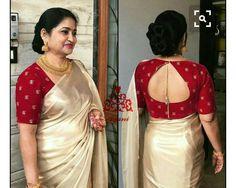 Back neck designs for Blouse - The handmade craft Wedding Saree Blouse Designs, Pattu Saree Blouse Designs, Silk Saree Blouse Designs, Saree For Wedding, Pattern Blouses For Sarees, Designer Saree Blouses, Indian Blouse Designs, Saree Blouse Patterns, Silk Blouses