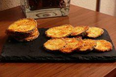 Chips de berenjena al horno