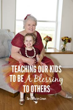 Teaching Our Kids to be a Blessing to Others