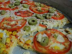 Receita de Massa para pizza de liquidificador