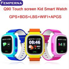 Q90 GPS Touch Screen WIFI Smart Watch Child SOS Location Finder Tracker Safe Anti Lost Monitor Smartwatch House - Shop the Best Cheap/Chinese smartwatches