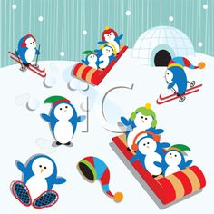 The Clip Art Guide Blog: Winter Clipart Collections