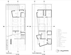 Trojes House / Arkylab, Floor Plans