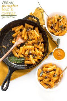 Pasta Mac & cheese vegan senza glutine cremosa alla zucca | Vegan Pumpkin mac and Cheese #pasta #glutenfree