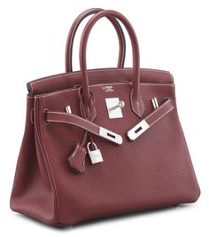 73e2802a532d A HORSESHOE SPECIAL ORDER 30CM ROUGE H   ETOUPE CLEMENCE LEATHER BIRKIN BAG