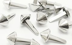 40 8mm cone studs for the bottom of a backpack or purse!!
